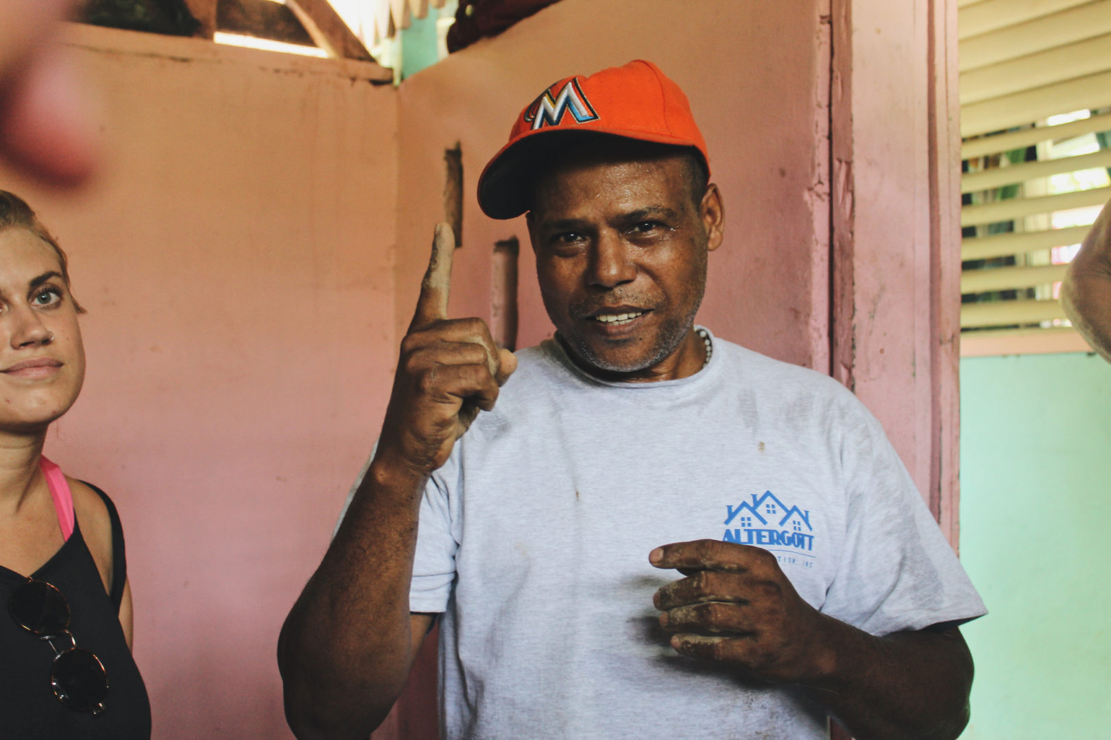 """The poor are helping the poor,"" says Andres. ""This is the path we are learning from God."""