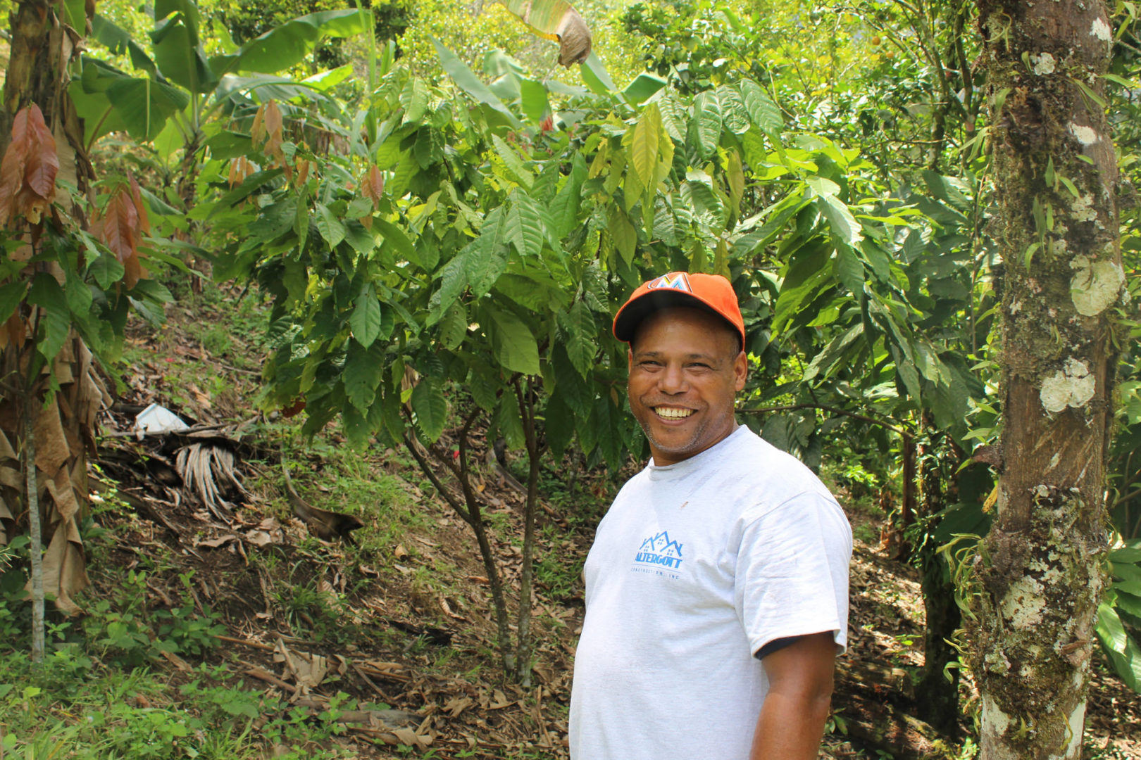 Crop diversification was key to helping Andres' grow a more sustainable farm.