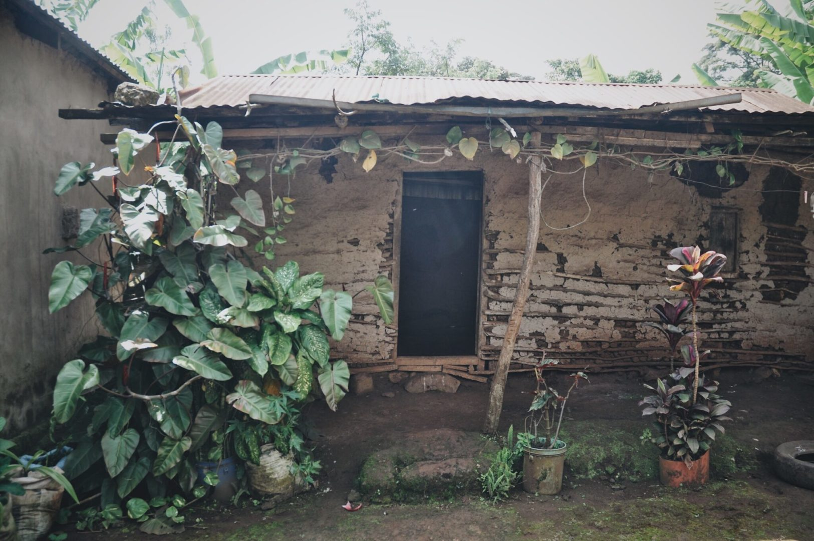 The materials and quality of one's physical home can be one of several indicators of lived poverty.