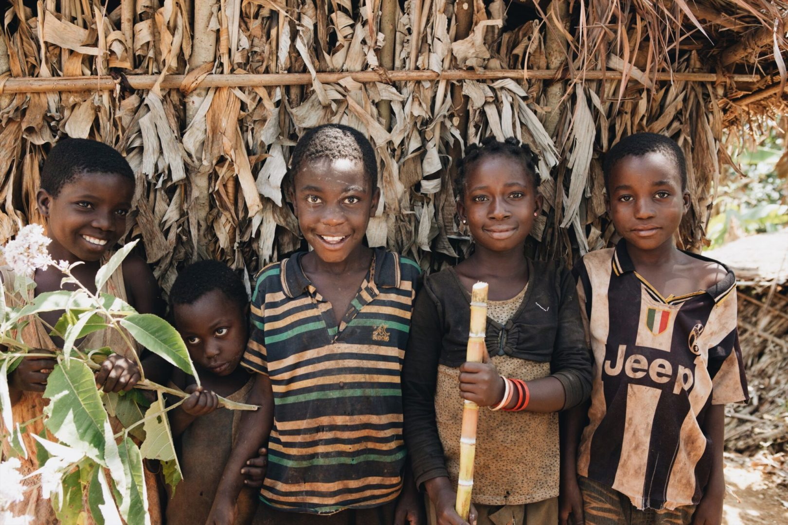 Living in a watershed affected by deforestation made it difficult for Kamuno to provide enough food for all his children.