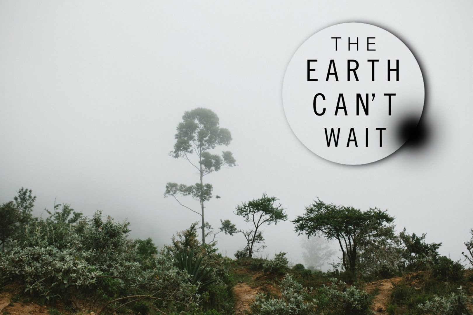 The Earth Can't Wait campaign