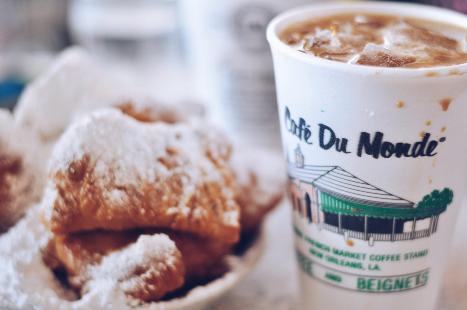 Beignets from Café du Monde are a New Orleans favorite