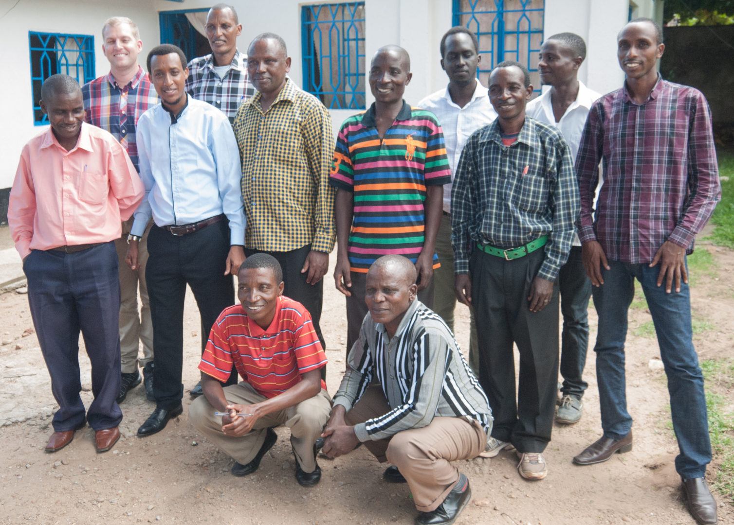 Plant With Purpose Congo's staff aims to reconcile all tribes.