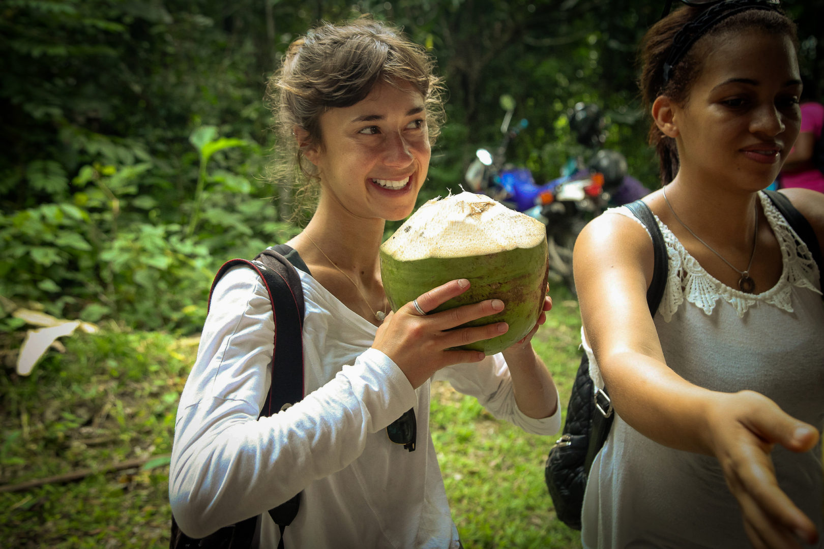 It doesn't get much more refreshing than a fresh coconut