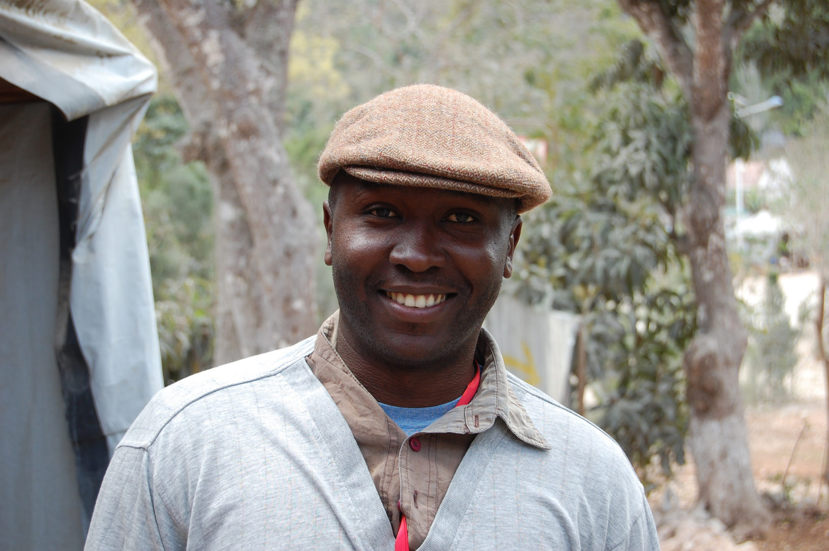 Jean serves as an environmental technician in Haiti.