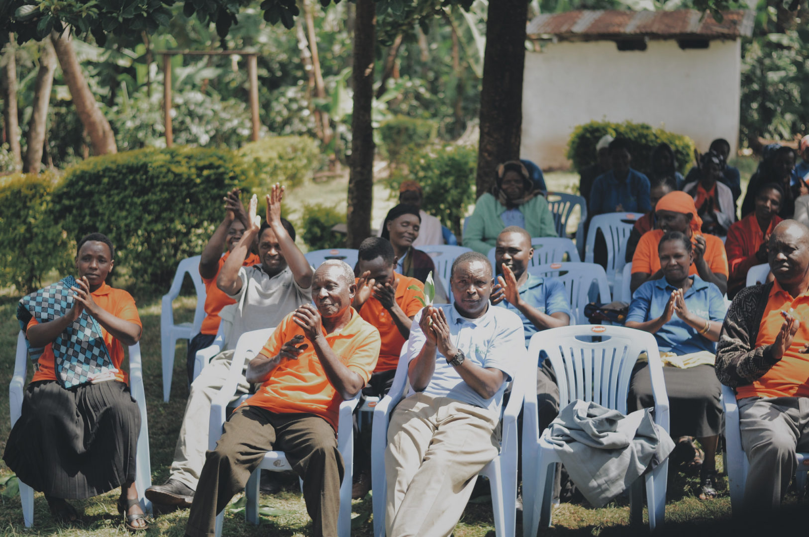 Many group meetings in Tanzania are full of visible joy