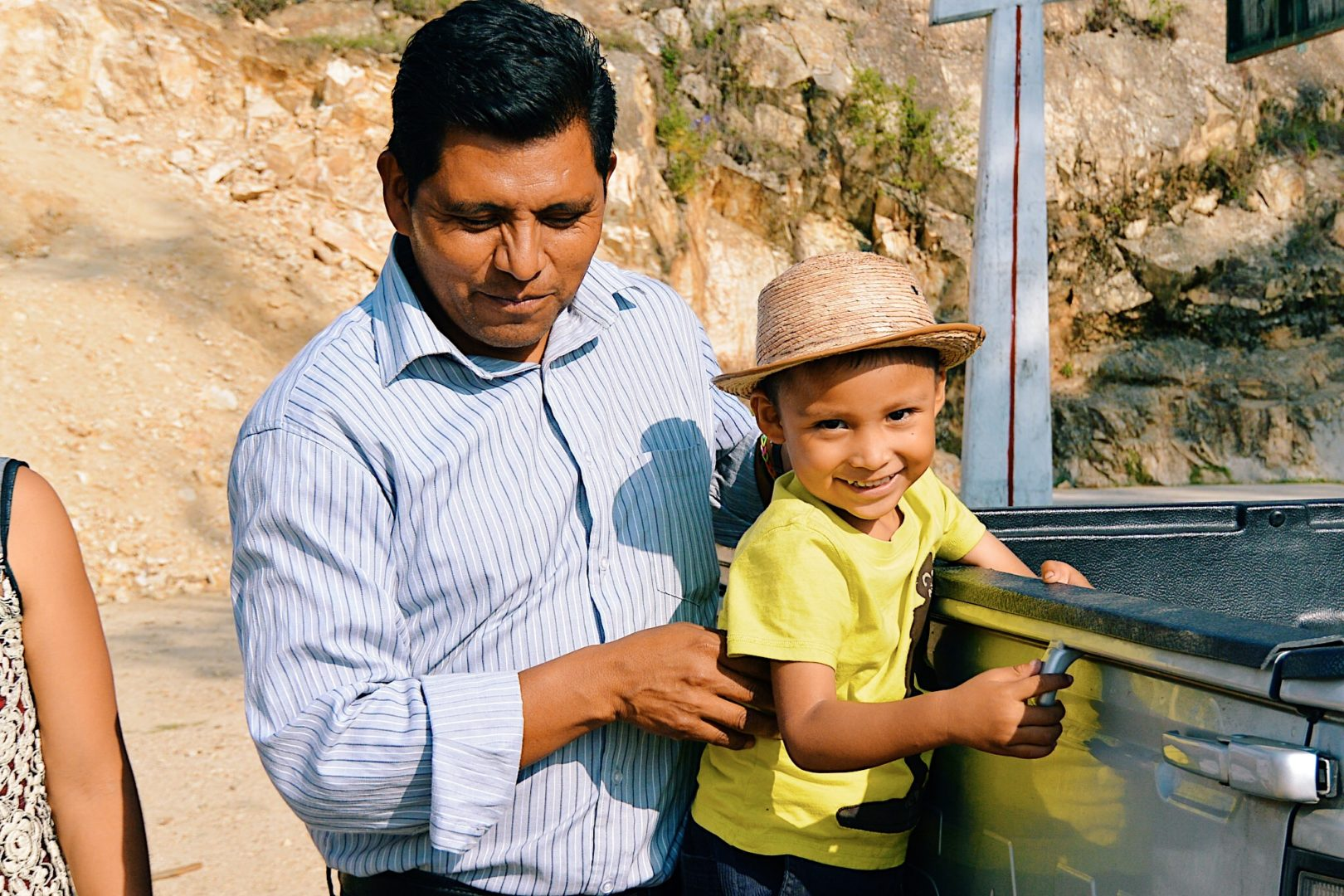 Plant With Purpose empowers dads around the world.