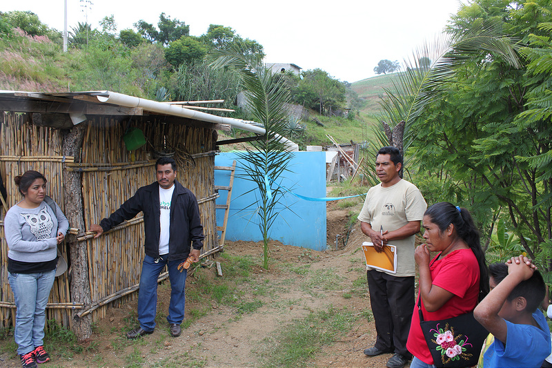 Participants in Oaxaca make decisions for their community.