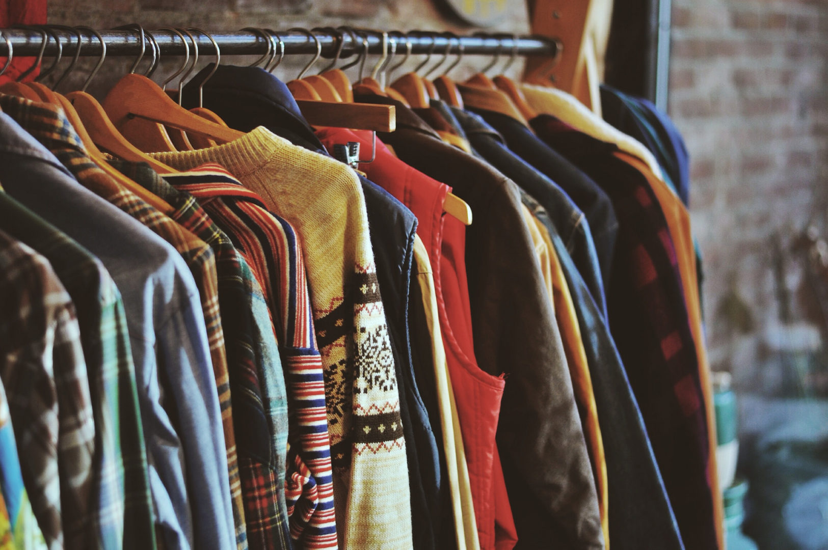 Consider owning fewer, but more consciously made clothing items