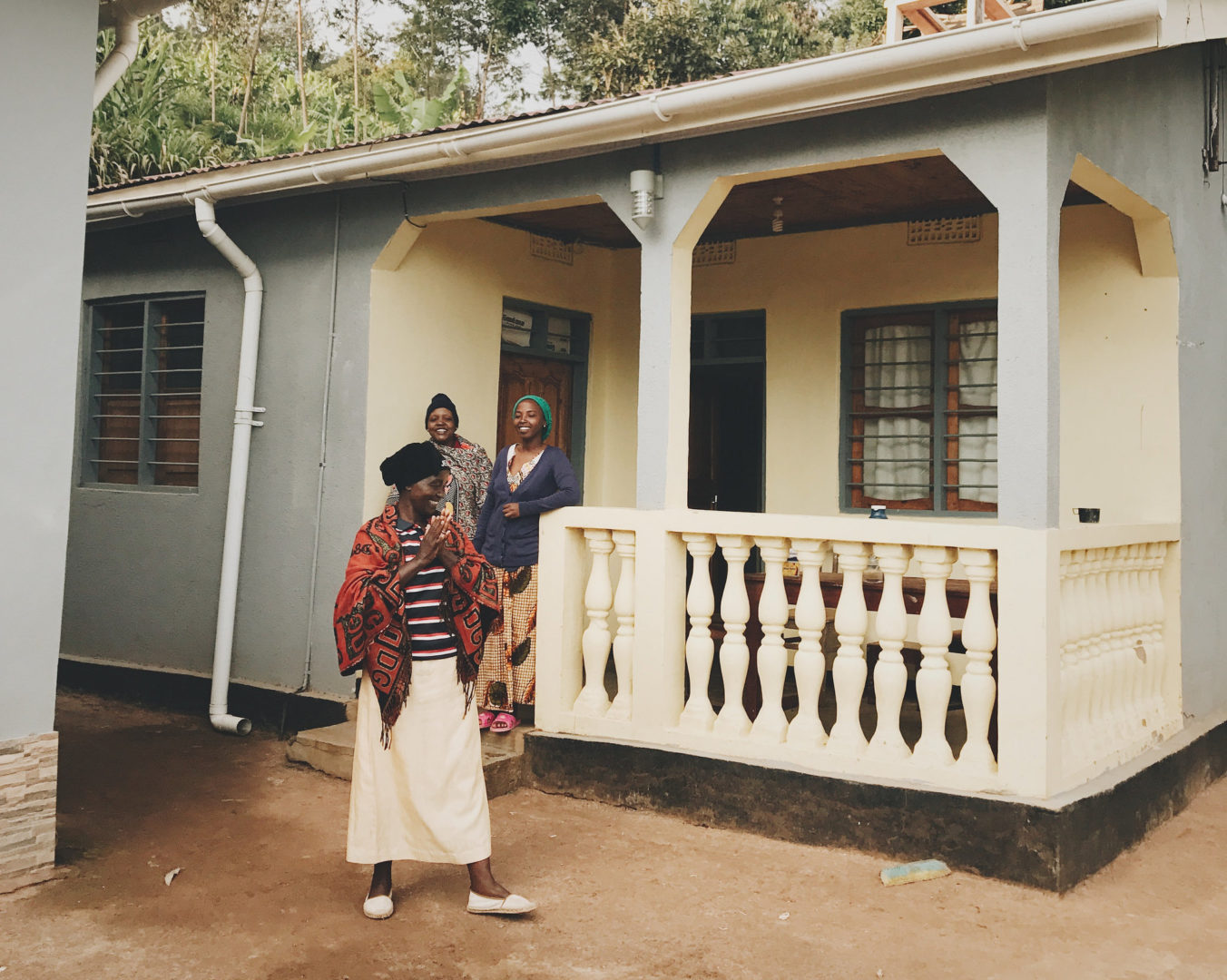 An improved home in Tanzania