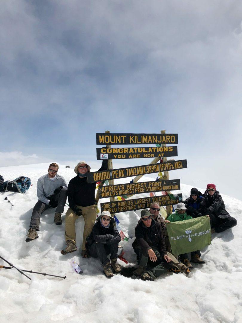Scott and Cindy on Kilimanjaro