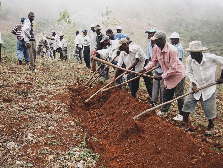 Soil Conservation Barrier