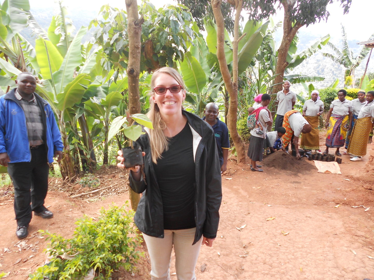 Christi worked closely with our Tanzania program for many years.
