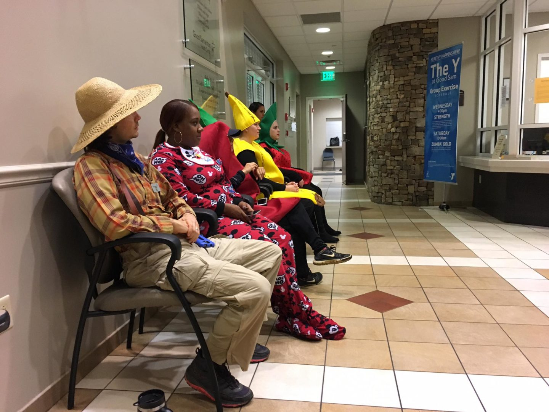 Guests at Good Samaritan Hospital in Atlanta