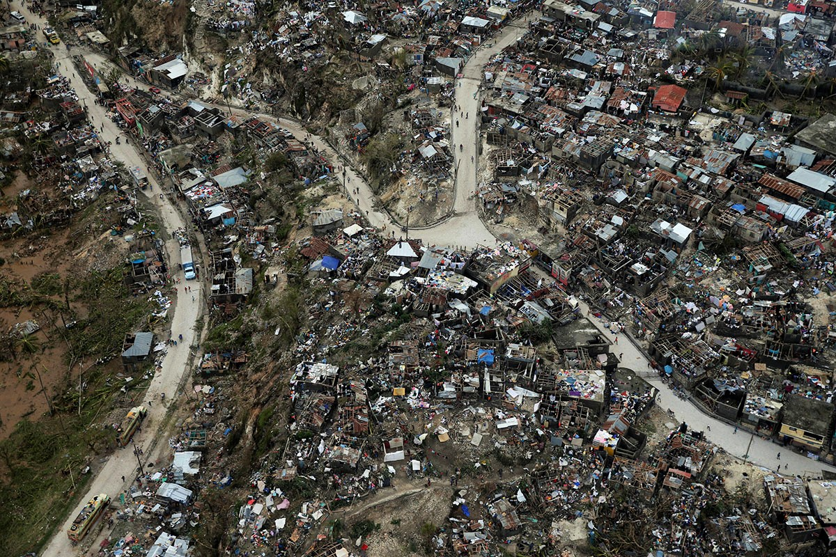 Haiti, Post-Hurricane Matthew. Photo from WilderUtopia.com