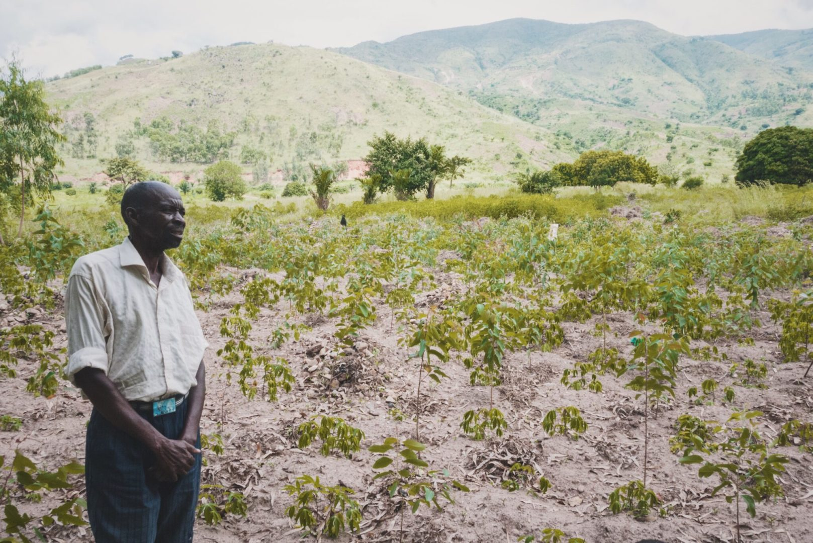 Hope enables farmers to envision plenty where once there was nothing.