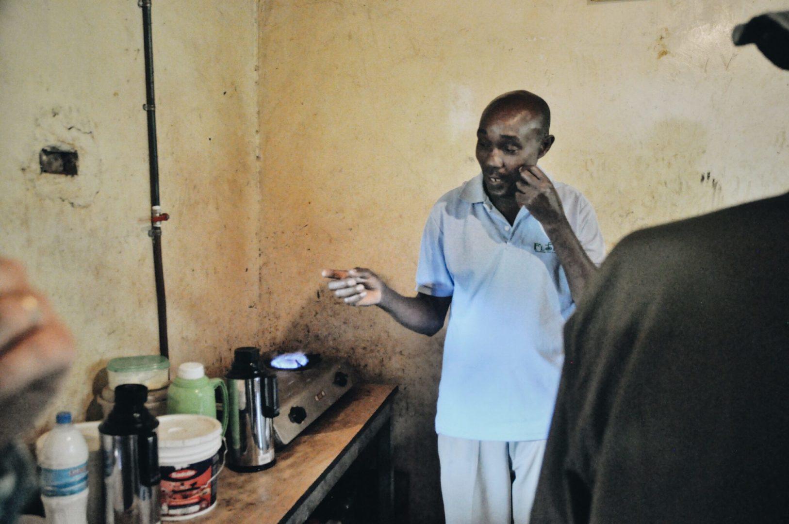Wilson's cow fuels his kitchen