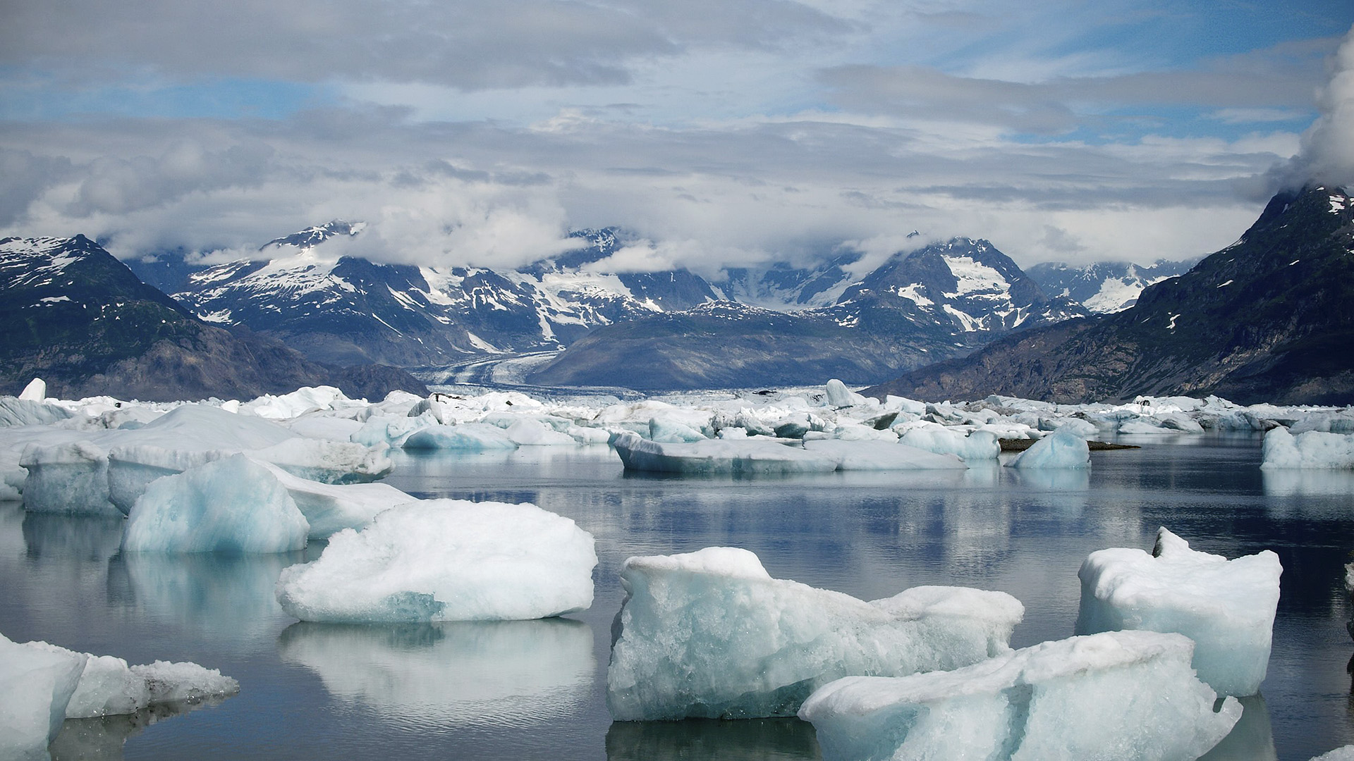 Glacier retreat is an indicator more related to global level concerns - Photo by NASA