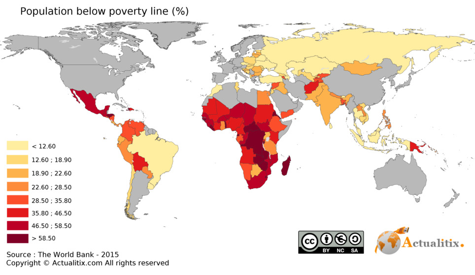 Poverty is 85% Rural