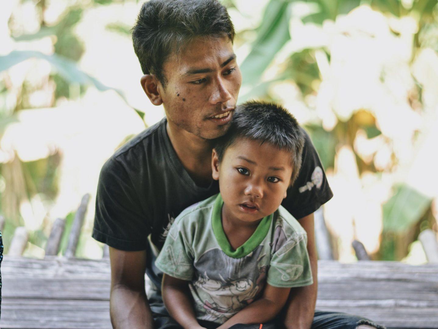 Aa Boh and his son struggle through a drought.