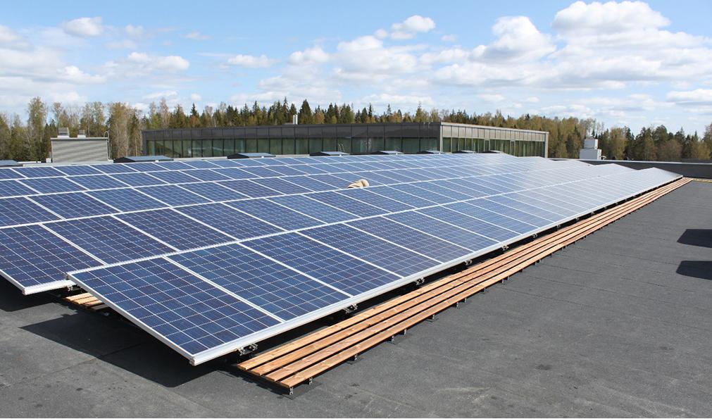 Solar Energy Panels in Finland
