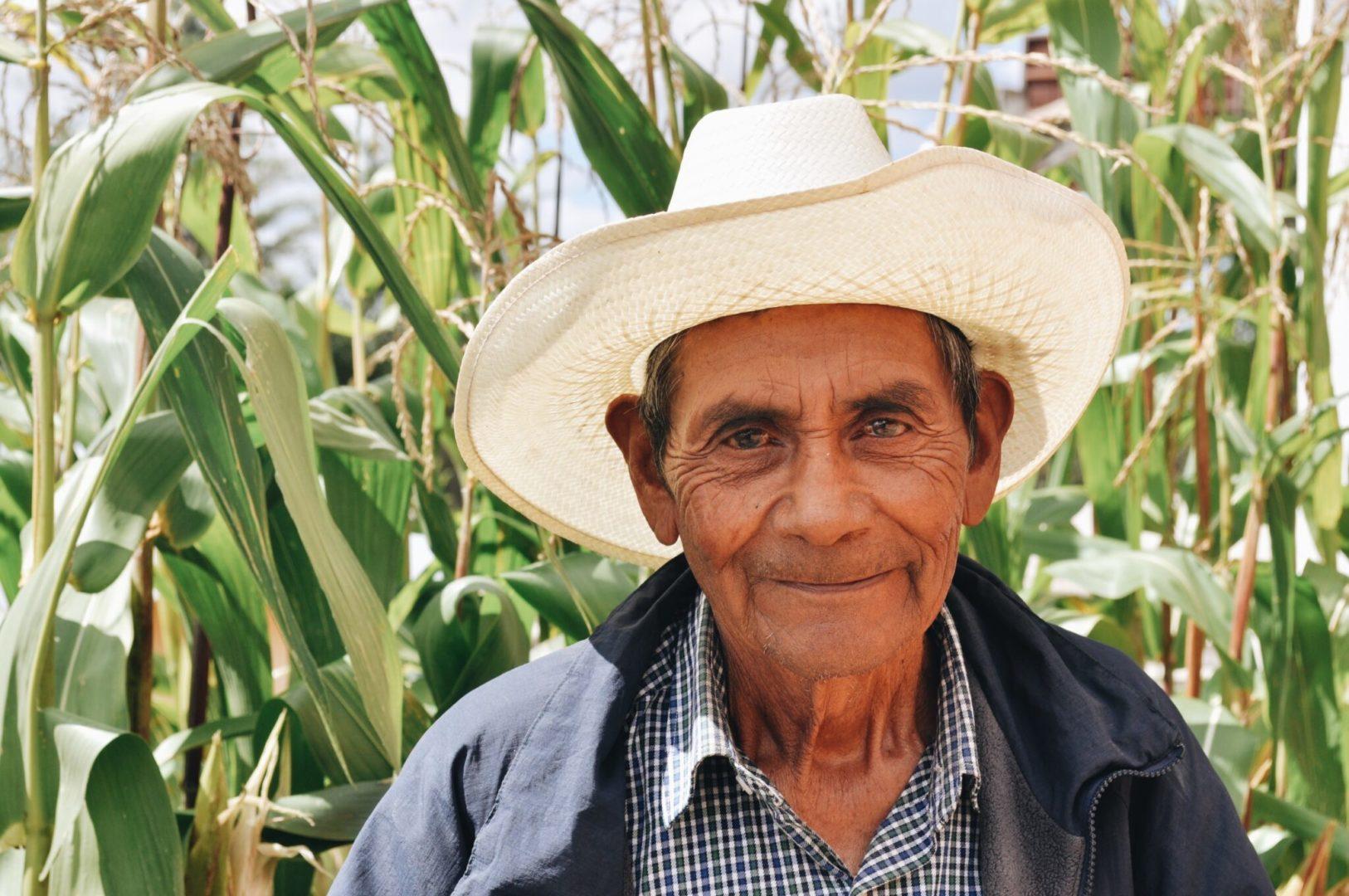 Antonio, a Mixtec community member in Oaxaca