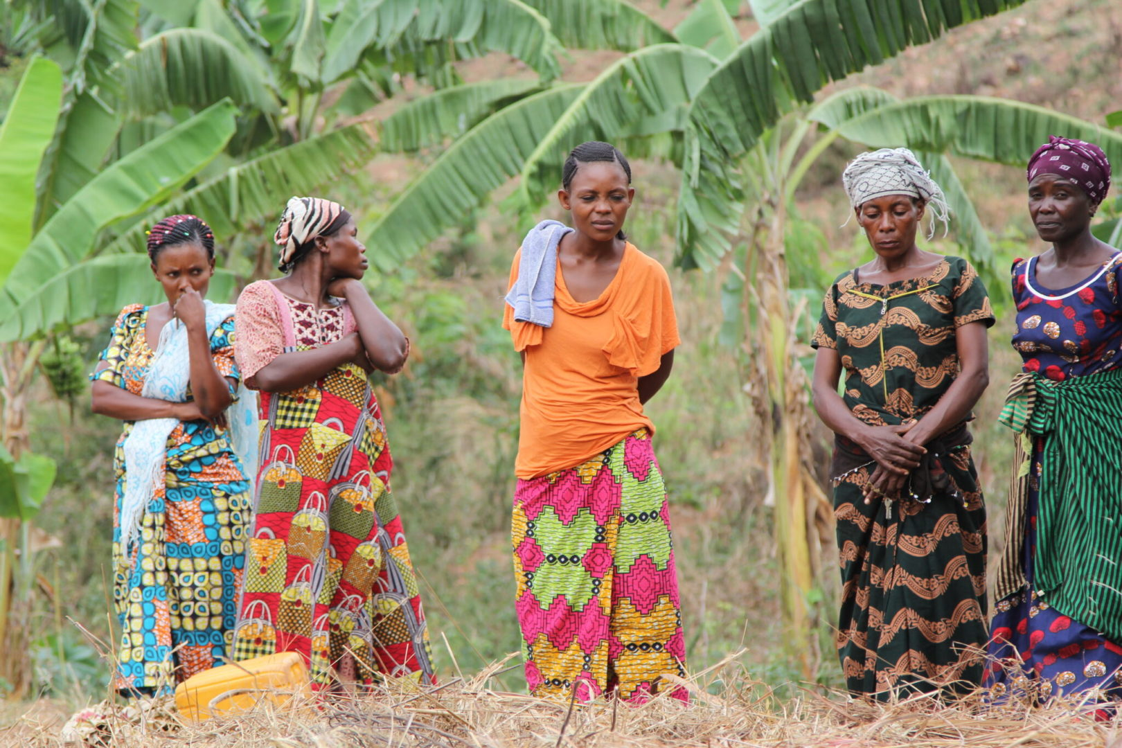 Women in the Democratic Republic of Congo build climate resilience