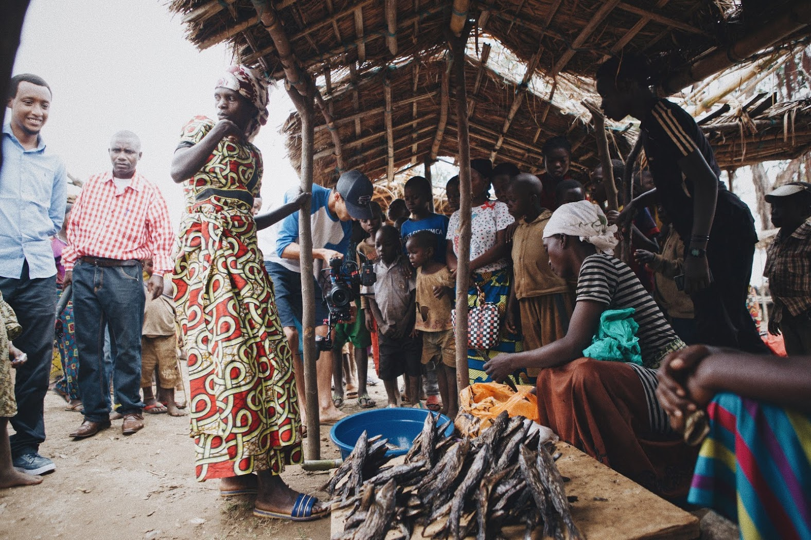 Community marketplaces in the Democratic Republic of Congo are currently closed.