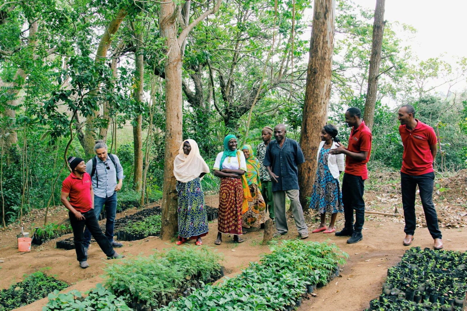 Visiting a Nursery in Tanzania