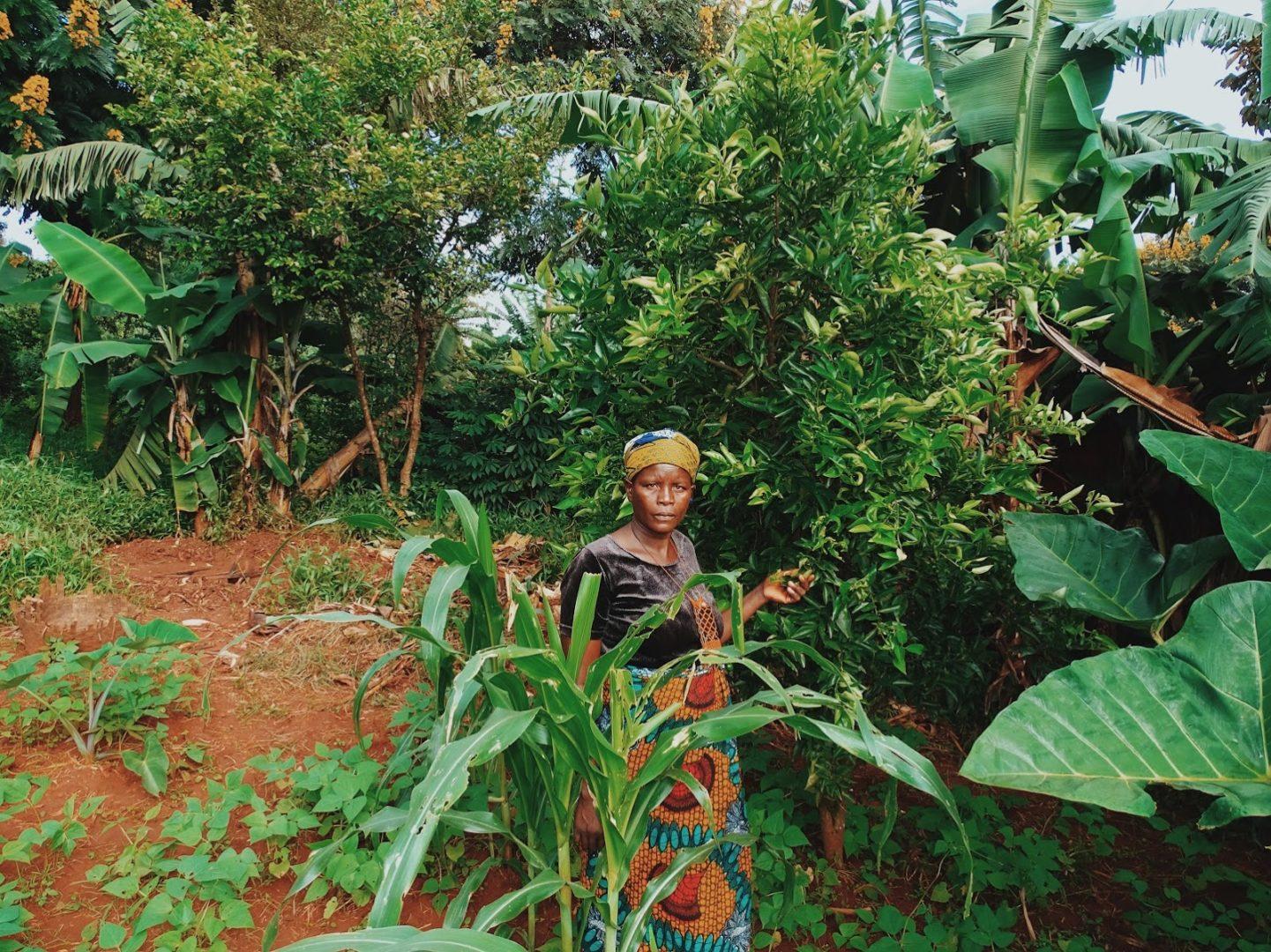 Larissa in Nyakazu, Burundi